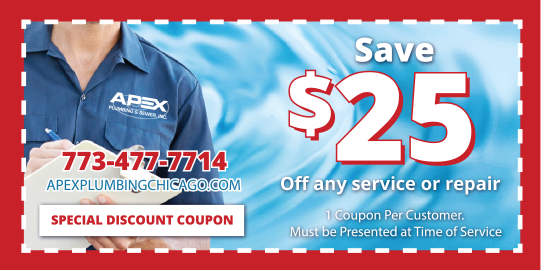 Apex Plumbing and Sewer Coupon Chicago IL