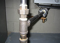 Gas Line Piping